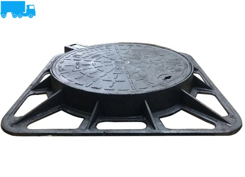 Ductile Iron Circular Manhole Cover & Frame BSEN124:D400,SS30:A1, 400KN
